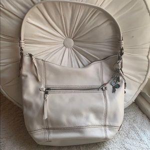 👜NWOT The Sak off white leather shoulder bag